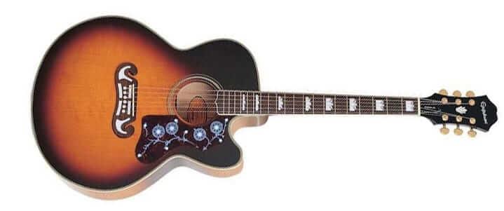 Guitare Jumbo pour les débutants