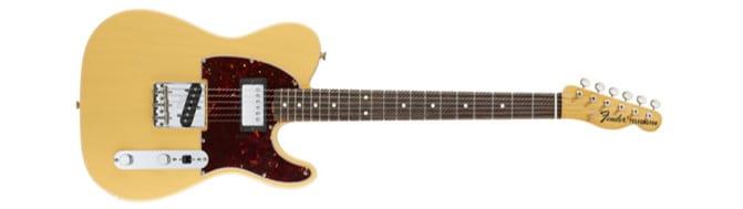 Fender Telecaster : la meilleure guitare electrique débutant